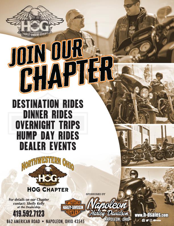 Events   Napoleon Harley-Davidson® Ohio